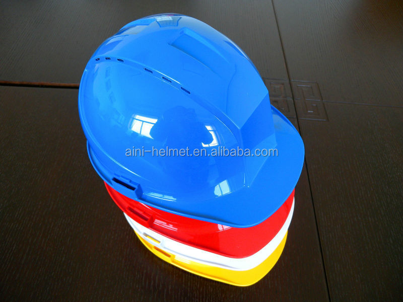 CE & ANSI ANB-9 vents hard hat