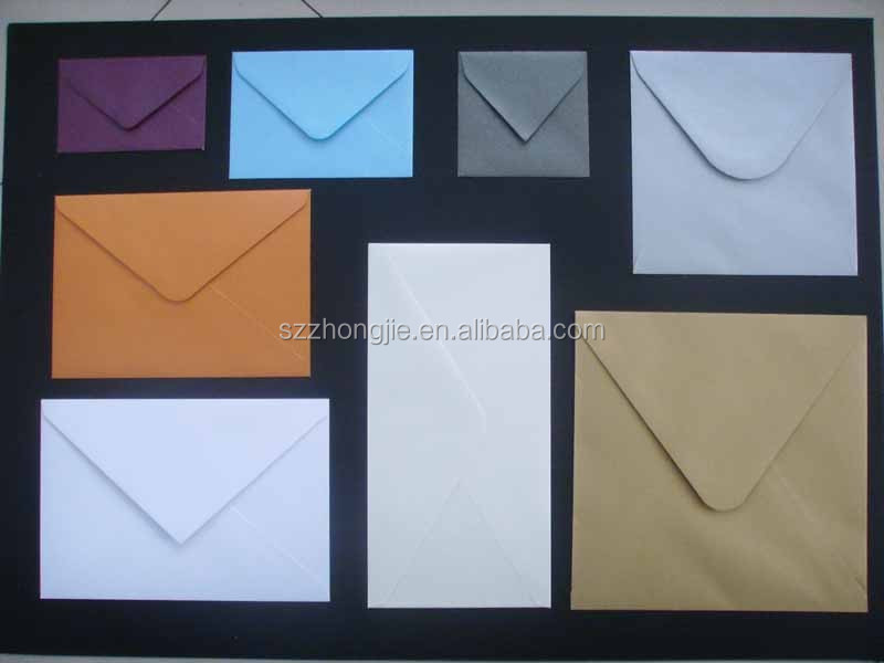 recycable brown kraft paper envelope