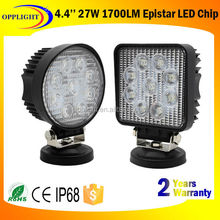 New 27w car led tuning light/led work light,Top quality 10-30V IP67 new 27w car led tuning light/led work light