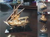 Crystal Sailboat Models For Decoration JB091