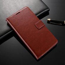 Mobile phone Full protective cover flip wallet stand function card slot bookstyle leather case for lenovo a850