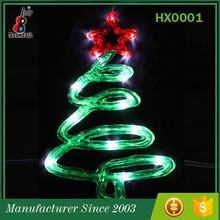 Zhejiang Supplier Top 10 Decorative Luxury led wire christmas tree light decoration