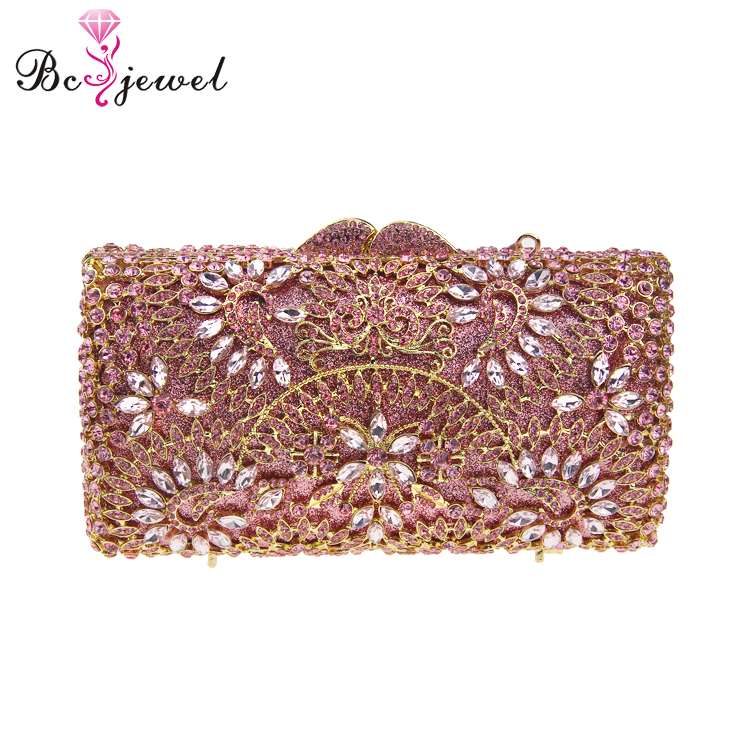 WZB031 Luxury Handbags High Quality Dress Purse Metal Chain Minaudiere Evening Bag Gold Mother of Pearl Clutch Bags