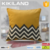Kikiland high quality black and white striped waterproof cushion cover
