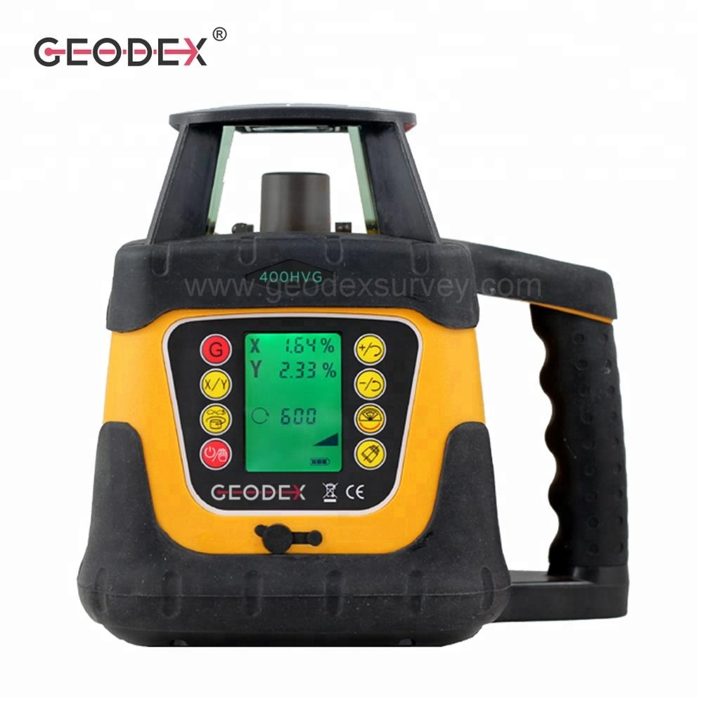 High Accuracy Rotating Laser Level 400HVG green laser Automatic Leveling <strong>360</strong> Degree Rotary Line Laser Level with LCD Display