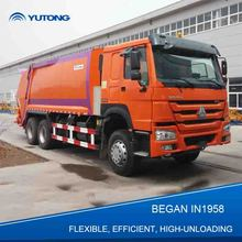 YUTONG 6x4 New-Style 13 Ton Waste Compactor Trucks