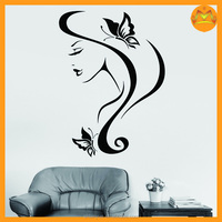 2015 new wall decor stickers home interior design damask country pvc wall stickers