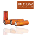 3.7V IMR 18500 Li-Ion Rechargeable Battery 1100mAh for Lighting, Security Systems, Digital Calipers, Measuring Tools
