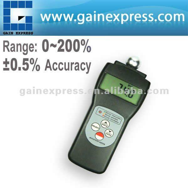 Digital Moisture Meter Tester for Foam Materials with 3 Color Coded LED Lights