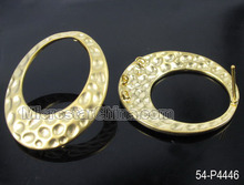 Wholesale Oval Brass Ear Stud Charms