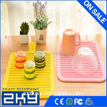 Kitchen Silicone Mat Pot Holder Hot Insulation Pad Insulation Silicone Table Mat Anti-Slip Placemat Folding Pads