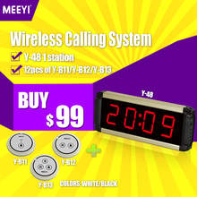 MEEYI Prompt Delivery Multi Colored Light Nurse Call Bell System