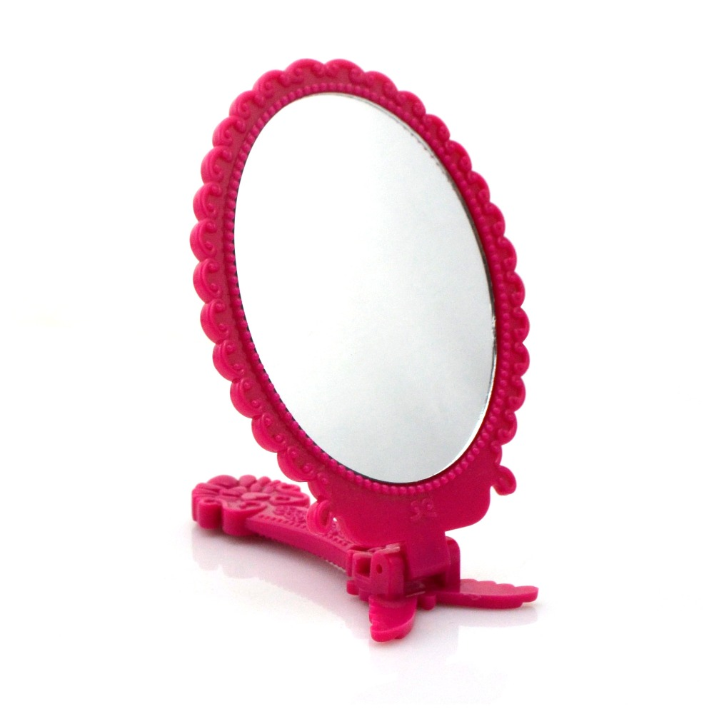 Wholesale plastic personalized and custom vintage mirror mini makeup mirror