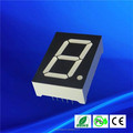 200-300mcd 625-630nm ultra red 1 digit seven segment led display 7seg 1""