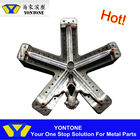 Ningbo OEM Factory Aluminum Die Casting Swivel Chair Base Parts