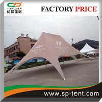 Pop up Star Shade canopy tents printed in any colors for outdoor shleter shade and branding logo