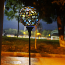 Free sample solar powered decoration solar garden led light parts