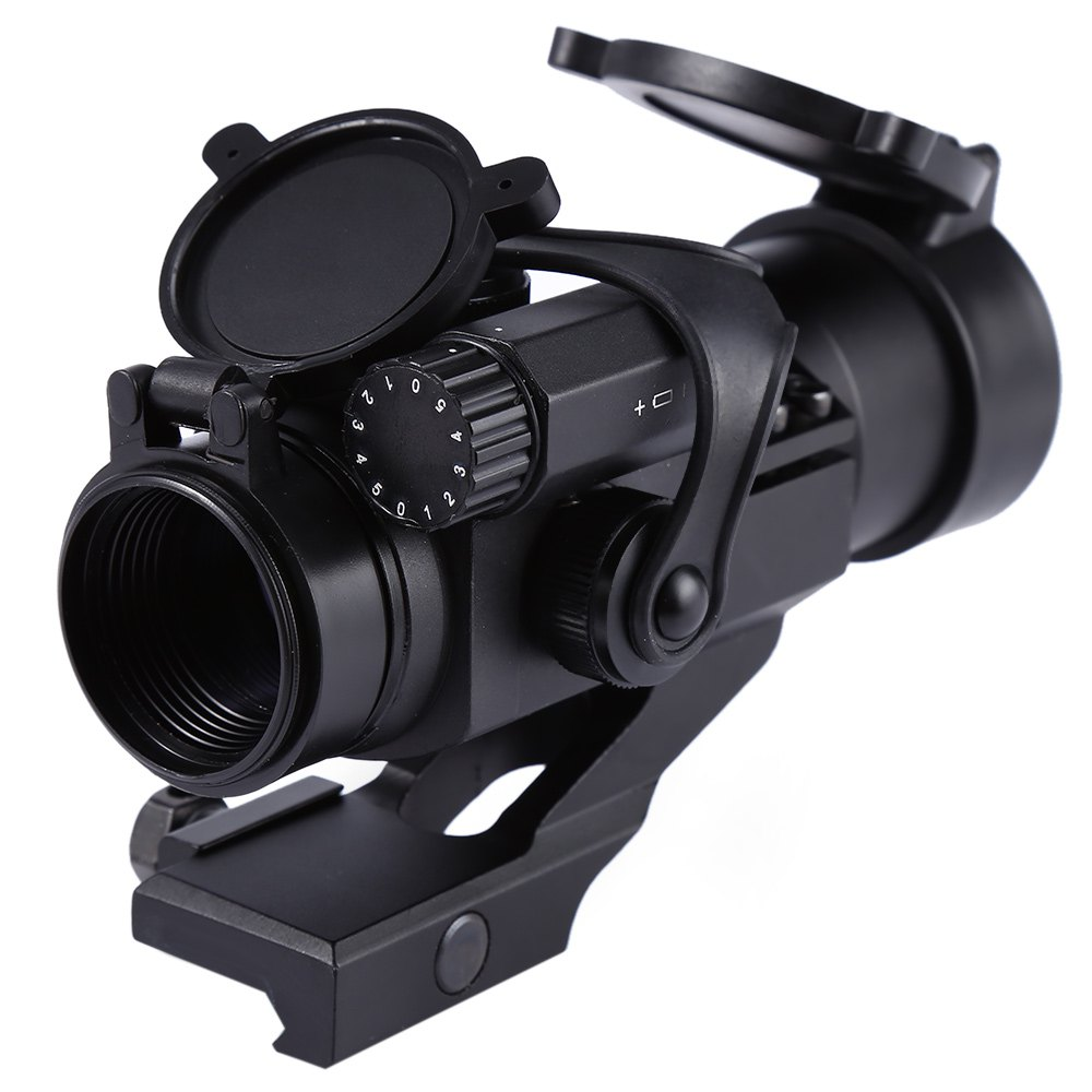 Hunting Tactical Sighting Red Green Dot Riflescope Sight Scope for Picatinny Rail 20mm Rail Mount