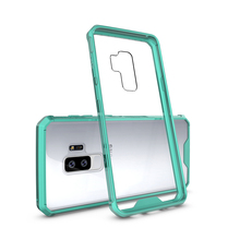 High Quality Shockproof Clear PC TPU Phone Case For Samsung Galaxy S9 Acrylic Case Cover