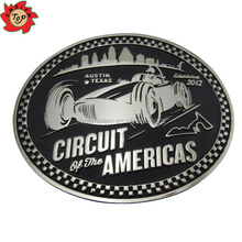 Sale!!!Circuit of the Americas Factory Custom Alloy Belt Buckle Maker for Men/Women as Business Gift