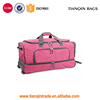 New Style Luggage Bag Men Piton Drop Bottom Rolling Duffel Bag Gym Bag Luggage Suitcas