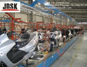 Economic assembly line motorcycle from JDSK