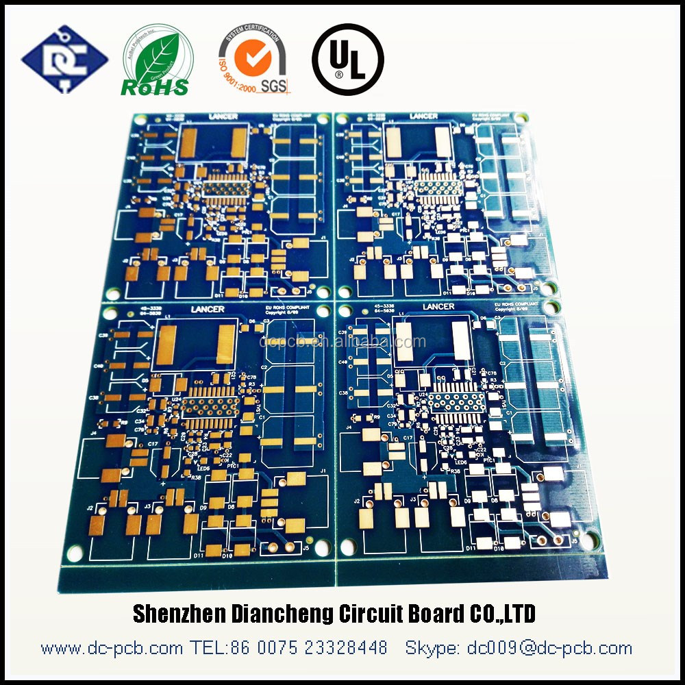 pcb with leds and driver,pcb with thermal pad and PCB wires and plugs
