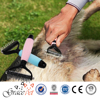 Comfortable Silica Gel Handle Pet Comb Gentle Teeth Dematting dog comb