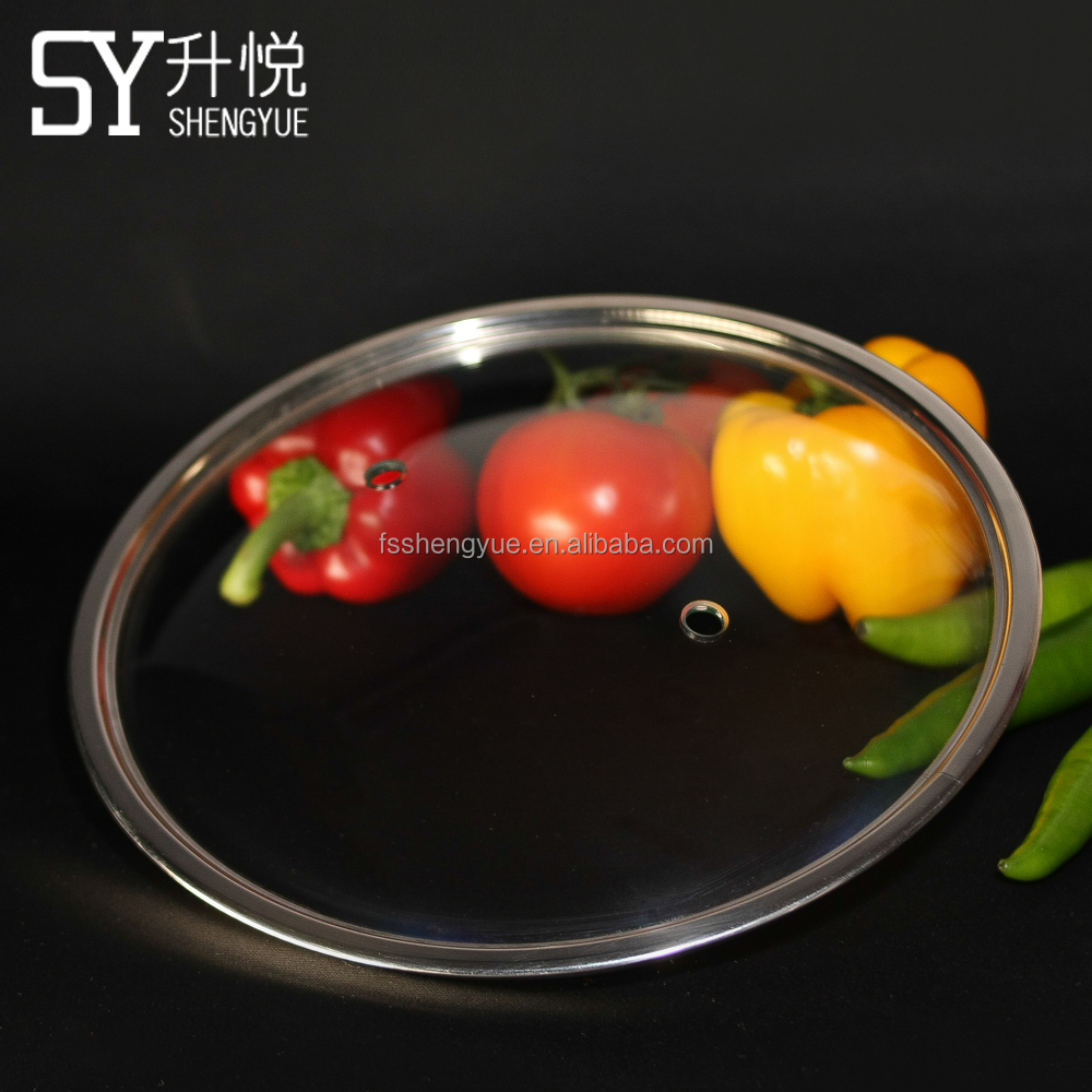High Quality Tempered Glass Cooking Pot Lid