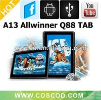 Cheapest Allwinner A13 tablet pc