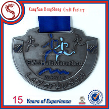 High quality holiday 5k metal medal