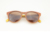 Latest Fashion Custom Round Women Sunglasses With Brown Polarized Lens