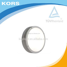 Modern room corner lamp LED wall light IP54 outdoor bulkhead light round Eyelid Step Light with TUV