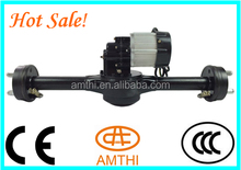 axle with dc motor, electric rickshaw motor 3 wheeler for passanger/cargo, electric motor driving rear axle, AMTHI