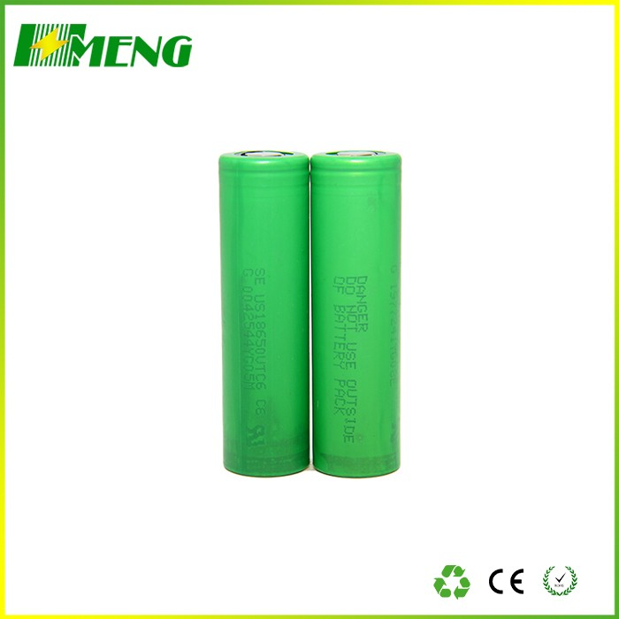 100% Original E-Cigarette US18650 VTC6 3.7V 3000mAh VTC6 18650 Rechargeable Battery For Sony
