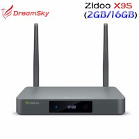 ZIDOO X9S TV BOX Android 6.0 + OpenWRT(NAS) Realtek RTD1295 2G/16G 802.11ac,2.4GHz,5.8GHz Wifi BT4.0 Gigabit Lan 4K Media Player