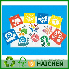 Plastic Drawing Painting Stencil Templates for Kids Crafts