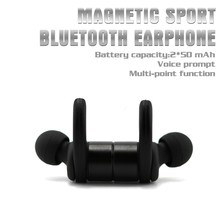 Cheap China Factory Custom Wireless Mobile Phone Accessories V4.1 Magnetic Bluetooth Earbuds R1615