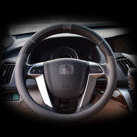 Pilot Automotive Feel Great Genuine Leather Material Steering Wheel Cover for all model car