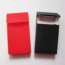 Fashion slim sizes silicone women packing cigarette case