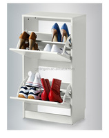 white shoe storage home cabinet furniture(DX-8619)
