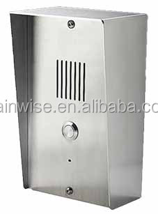 GSM audio 3G intercom door phone gate opener controller relay switch via SMS or free call 56985