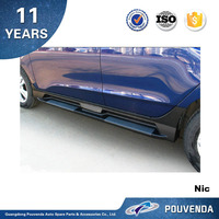 Brand New Running Board For Hyundai IX35 2010+ Side Step Original running board (ix35 logo) Auto accessories from pouven
