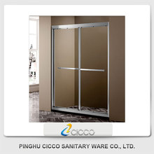 China Wholesale High Quality Double Roller Sliding Shower Door