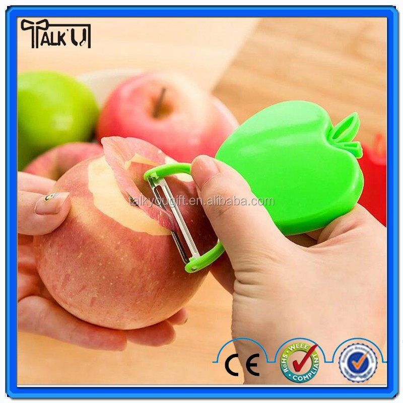 Food Preparation Tools Beautifully foldable apple-shaped peeler Kitchen Gadgets
