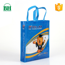 China wholesale high quality cheap recycled large non woven polypropylene expandable shopping bags with logos