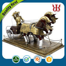 Brass chariot handicraft from ancient time