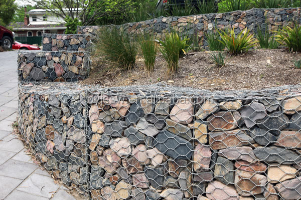 prevent soil erosion of gabion mesh