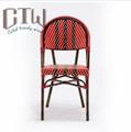 Very Nice Design French Bistro Chairs Aluminum Bistro Chair For Sale