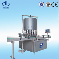 vacuum packaging machine vacuum nitrogen fill and stopper machine